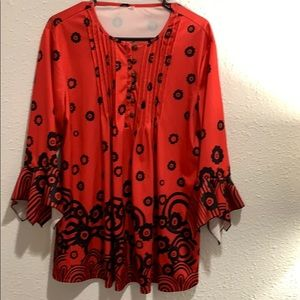 Women's casual/career blouse. Size 2X